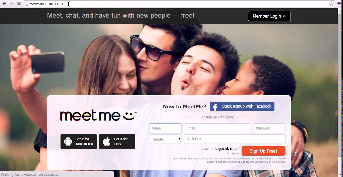 meet me facebook login